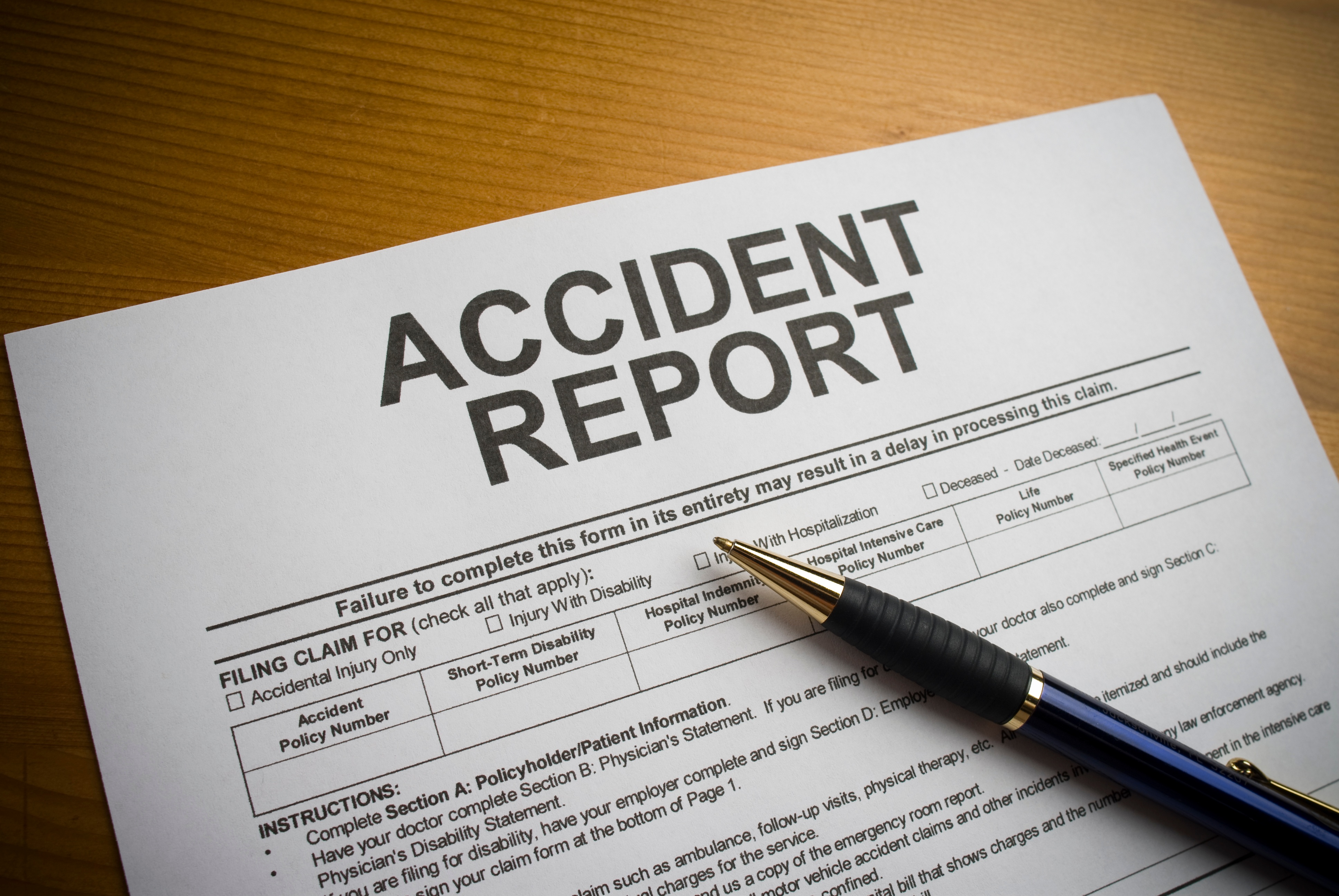 Personal-Injury-Accident-Report