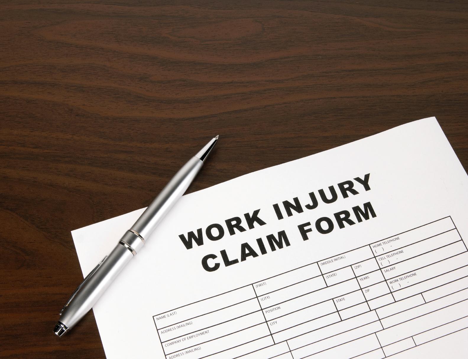 work-injury-claim-form