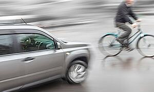 Bicycle accident negligence