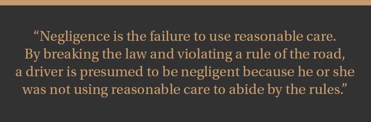Milwaukee Car Accident Lawyers explain negligence