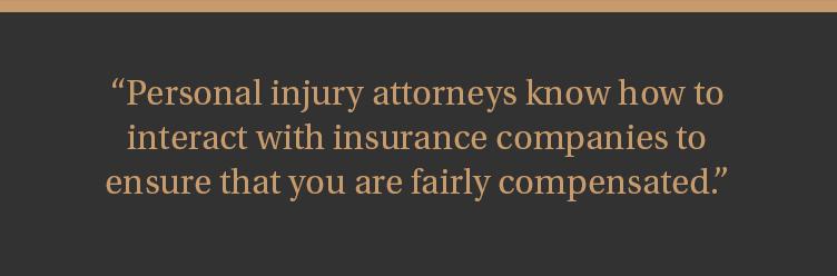 Milwaukee personal injury lawyers and insurance companies