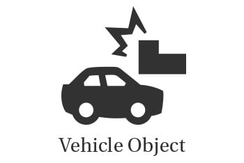Vehicle and Object Car Accident